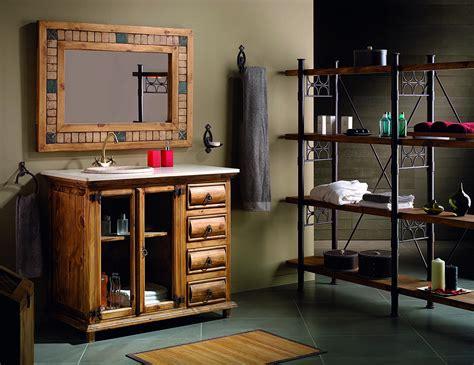 Muebles rústicos de madera maciza baratos online