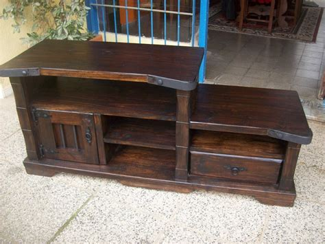 Muebles rústicos de madera - Mesa Madera