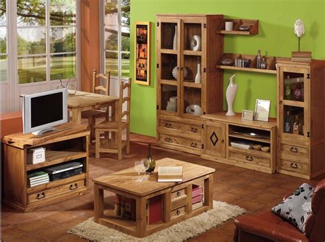 Muebles rústicos de pino - Tienda online Valencia