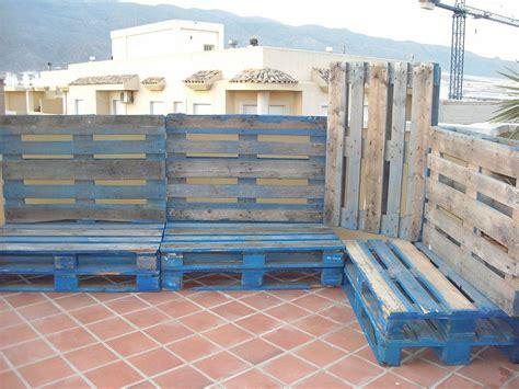 muebles terraza palets facilisimo - Buscar con Google ...