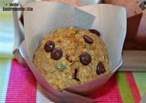 Muffins de avena, plátano y semillas | Gastronomía & Cía