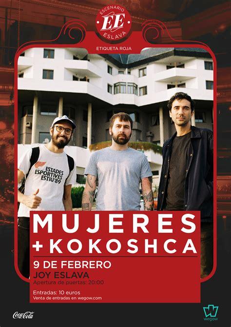 Mujeres + Kokoscha   Discoteca Joy Madrid