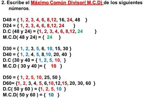 Múltiplos y divisores 5º. lo multiplicamos por los números ...