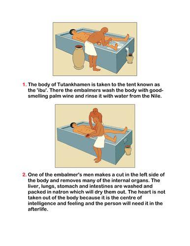 Mummification Instructions  KS2  by MrMale   Teaching ...