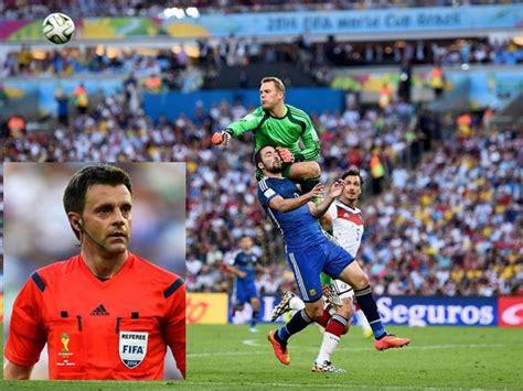 Mundial Brasil 2014: Árbitro de la final afirma que no fue ...
