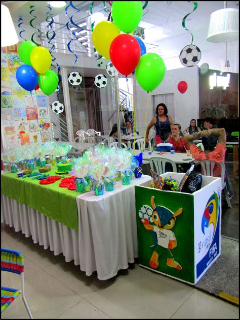 Mundial Brasil 2014 Party decoration. Decoración Mundial ...