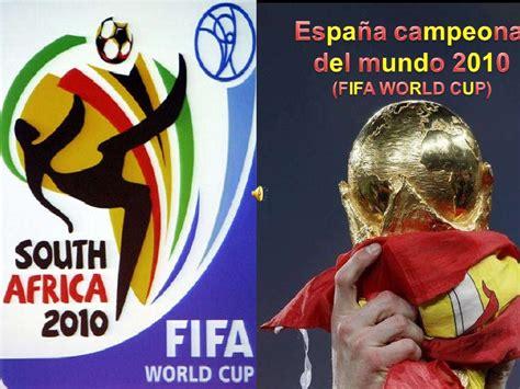 Mundial de Futbol Sudafrica 2010 (Fifa world cup)