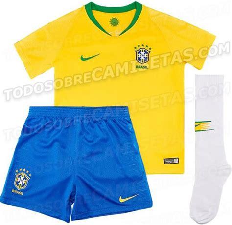 Mundial Rusia 2018: Brasil y su posible uniforme para el ...