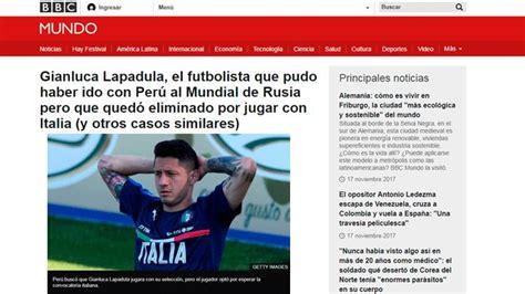 Mundial Rusia 2018: esto dijeron la BBC y otros medios ...