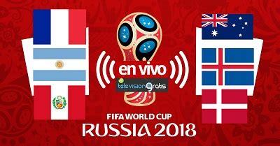 Mundial Rusia 2018 - Partidos En Vivo del Sábado 16 de ...