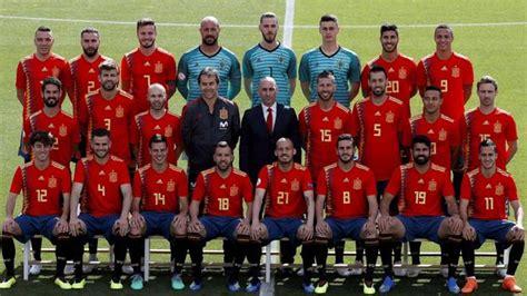 Mundial Rusia 2018: Selección española