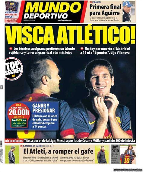 Mundo Deportivo: Forza Atletico - calciomercatonews.com