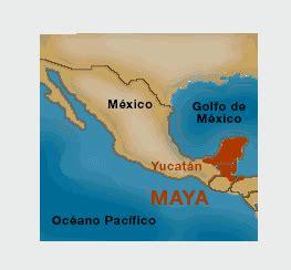 MUNDO ROSSA CULTURA MAYA: UBICACIÓN GEOGRÁFICA DE LOS MAYAS