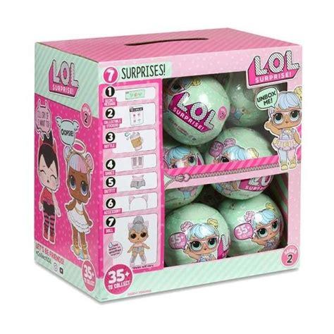 Muñecas Lol Surprise Caja Por 18 Unidades Serie 2 L.o.l ...