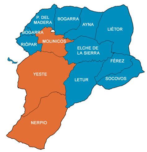 Municipios de Albacete - Mancomunidad de la Sierra del ...