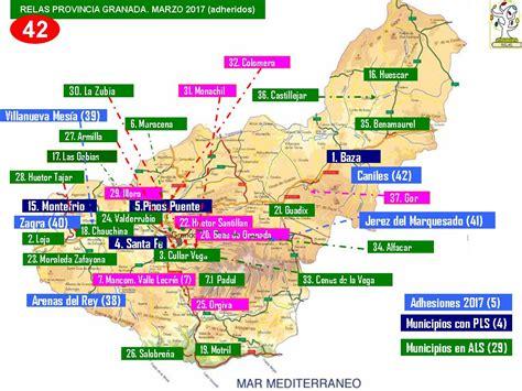 Municipios RELAS Provincia de Granada 2008-2017 | Red ...