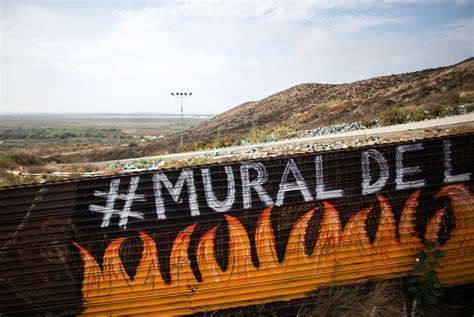 Mural de la hermandad se planta en la frontera México ...