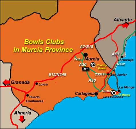 Murcia Bowls Clubs newest up and coming Bowls area » Spain ...