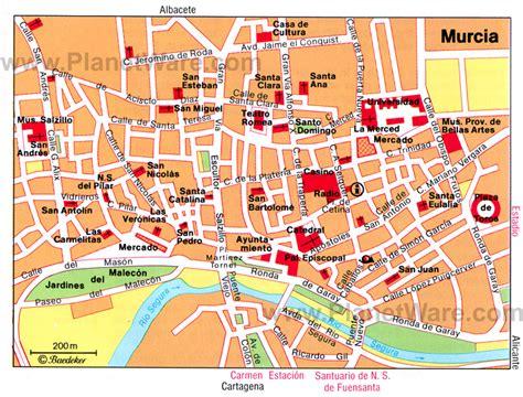 Murcia Haritası