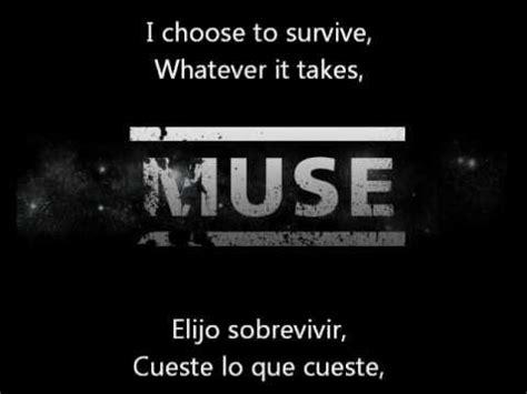 MUSE Survival Lyrics  In English  Letra  En Español    YouTube
