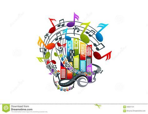 Music Logo Design Stock Vector - Image: 63037741