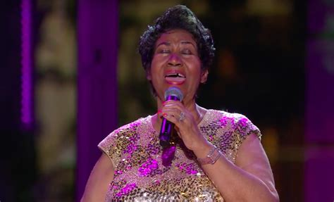 Music News: Aretha Franklin sings 'Purple Rain' at the ...