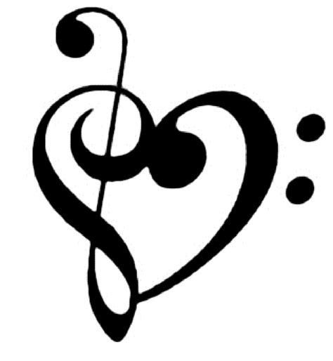 Music Notes Heart Wallpaper | Clipart Panda   Free Clipart ...