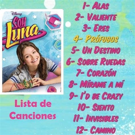 Música Soy Luna La Vida Es Un Sueño-49 Canciones +24 ...
