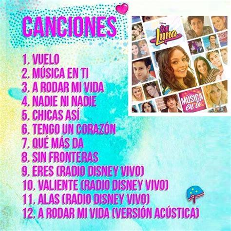 Música Soy Luna La Vida Es Un Sueño  49 Canciones +24 ...