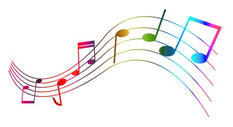 Musical clipart transparent   Pencil and in color musical ...