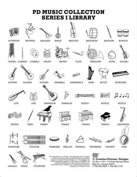 Musical Instruments Names | New Calendar Template Site