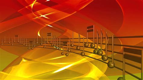 Musical Notes FREE Video Background 1080p   YouTube