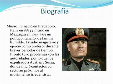 Mussolini. El fascismo italiano