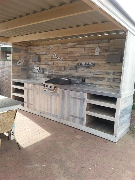 Must-see Pallet Outdoor Dream Kitchen | Recycled Pallets ...