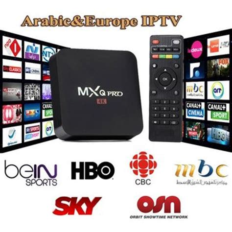 MXQ pro IPTV 1 año 700. más canales neotv tv box Android ...