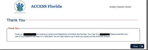 My Access Florida Account Login - Food Stamps Help
