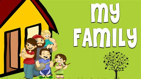 My Family - Family Vocabulary | Learn English Words For ...