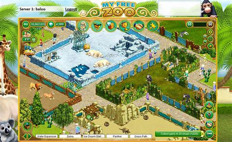 My Free Zoo – The zoo browser game on Upjers.com