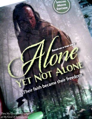 My Kind Of Introduction: Alone Yet Not Alone - Book Review