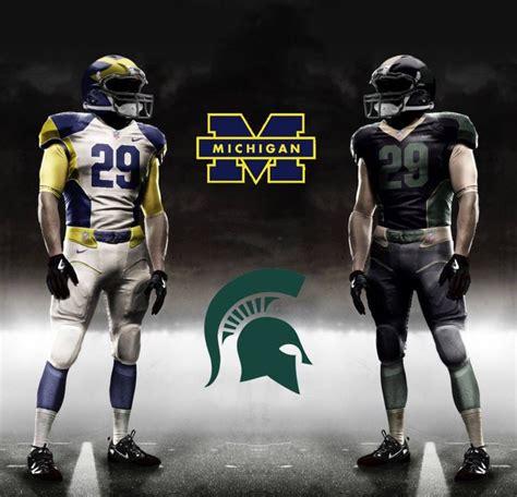 My Michigan v Michigan State concept   Jerseys/uniforms ...