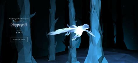 MY POTTERMORE PATRONUS - HIPPOGRIFF .•° | Harry Potter Amino