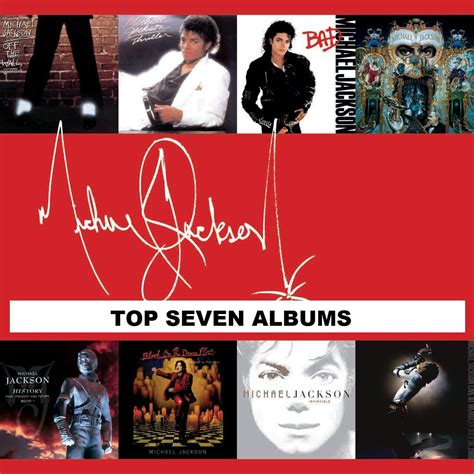 My Top 7 Michael Jackson Albums - YouTube