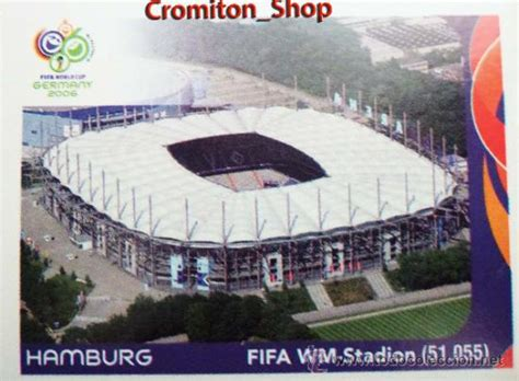 nº 5 - estadio de hamburgo - mundial alemania 2 - Comprar ...