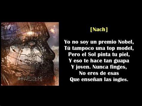 Nach ft. Sharif y Andrés Suárez - Tal como eres (con Letra ...