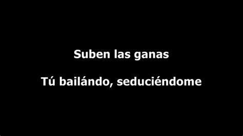 Nacho - Bailame (Letra) - YouTube