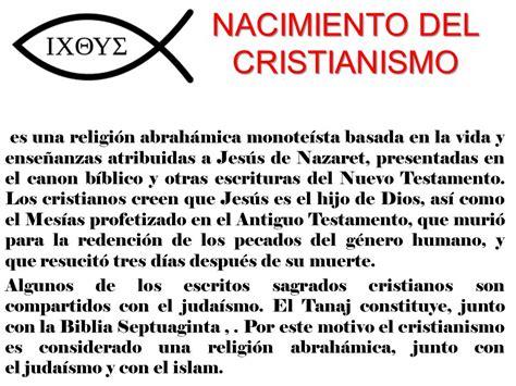 NACIMIENTO DEL CRISTIANISMO - ppt descargar