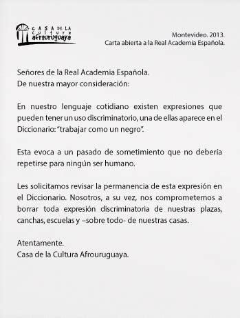 Nanny Books: Campaña Uruguaya  Borremos el racismo del ...
