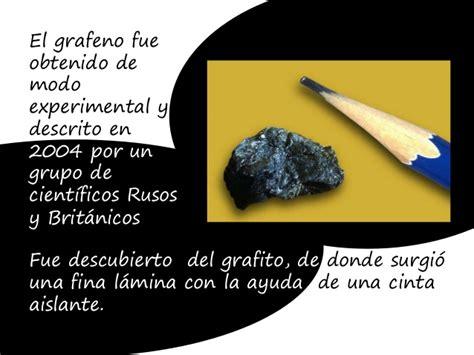 Nanomateriales a base de carbono.