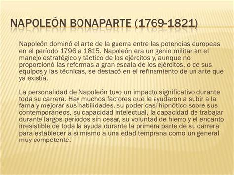 Napoleón personalidad