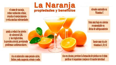 Naranja. Propiedades y beneficios de la naranja ...